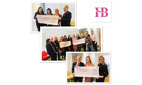HB Accountants Ambition cheque presentation