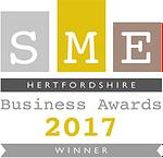 Hertfordshire SME Awards winner in 2017